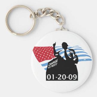 Inauguration Obama Key Chain