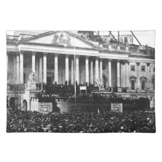 Inauguration of Abraham Lincoln March 4, 1861 Placemat