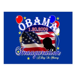 Inauguration of President Obama 2009 Postcard