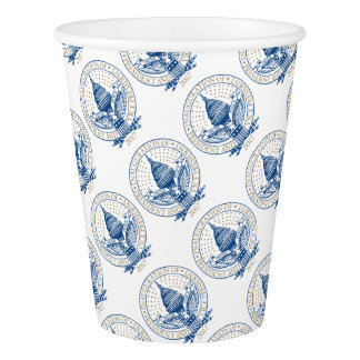Inauguration President Trump Mike Pence Republican Paper Cup