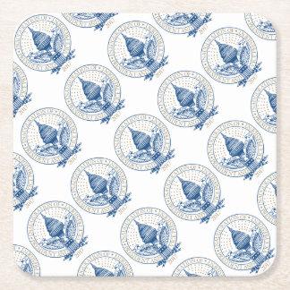 Inauguration President Trump Mike Pence Republican Square Paper Coaster