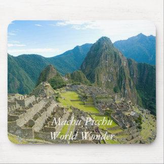 Inca citadel of Machu Picchu, Cuzco - Peru Mouse Pad