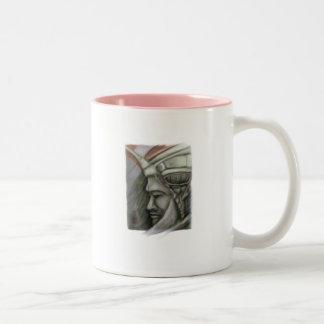 Inca gótico Two-Tone coffee mug