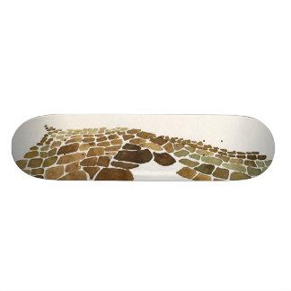 Inca salt pans design 21.6 cm skateboard deck
