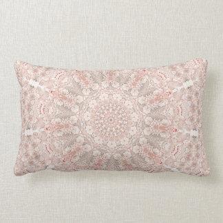 Incandescence Mandara V of flower (corrected) Lumbar Cushion