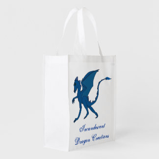 Incandescent Dragon Creations Blue dragon bag