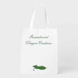 Incandescent Dragon Creations Green dragon bag