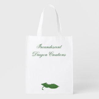 Incandescent Dragon Creations Green dragon bag 2