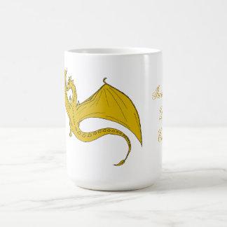Incandescent Dragon Creations  mug - Gold
