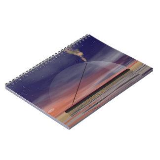 Incense - 3D render Spiral Notebook