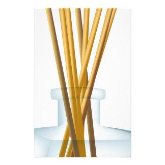 Incense Sticks Perfume Bottle Graphic Stationery