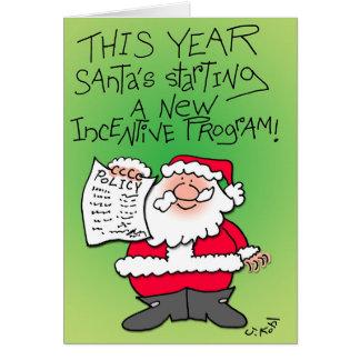 Incentive Program Card