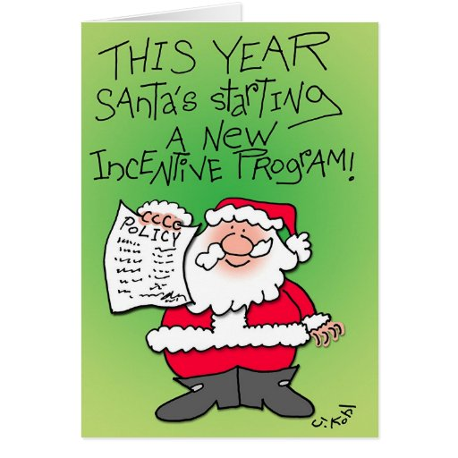 Incentive Program Greeting Card