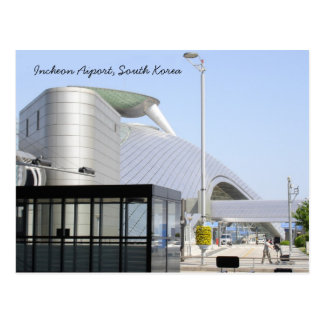 Incheon Aiport, South Korea Postcard