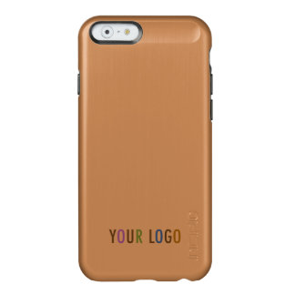 Incipio iPhone 6 6s Rose Gold Case Business Logo Incipio Feather® Shine iPhone 6 Case