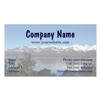 Incline, North Lake Tahoe Business Card Template