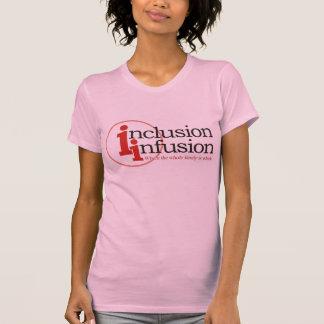 inclusion-infusion-logo tshirt