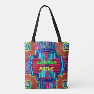 Inclusive 'LGBTQA PRIDE 'Rainbow Spectrum Tote Bag