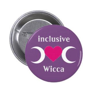 inclusive Wicca badge /
