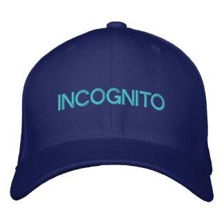 INCOGNITO - Customizable Cap @ eZaZZleMan.com Baseball Cap