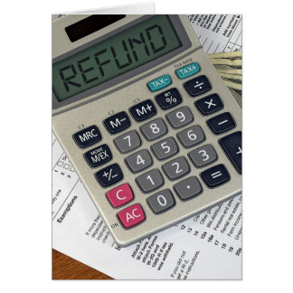 Income Tax for CPA business Card