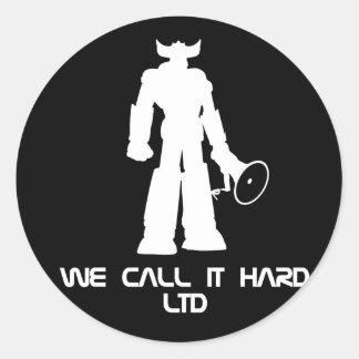 Incoming goods call it Hard Ltd. Sticker