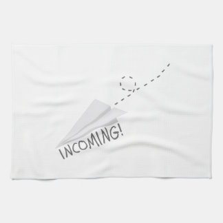 Incoming Paper Airplane Towel