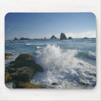 Incoming tide mouse pad