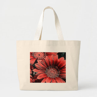 incomparably beautiful blooms, red bag