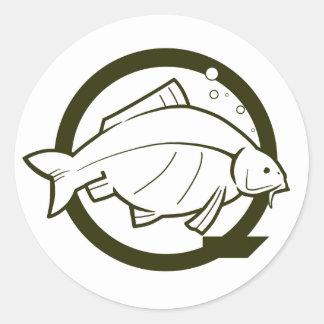 incQbait 'Carp Q' sticker