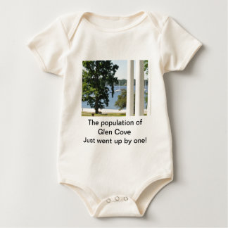 Increase In Population- Glen Cove Baby Bodysuits