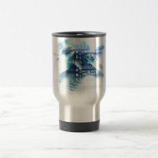 Incredible Dolphins Stainless Steel Travel Mug