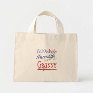 Incredible Granny Mini Tote Bag