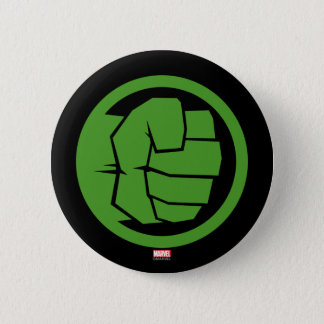 Incredible Hulk Logo 6 Cm Round Badge