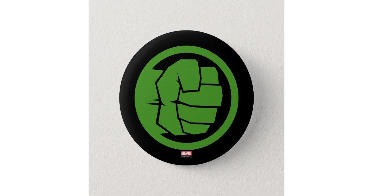Incredible Hulk Logo 6 Cm Round Badge Zazzle