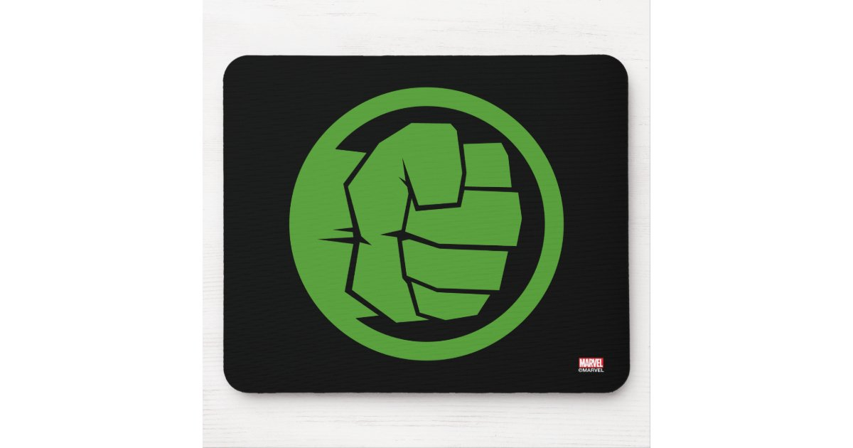Incredible Hulk Logo Mouse Pad Zazzle
