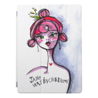 Incredulous Jane iPad Pro Cover
