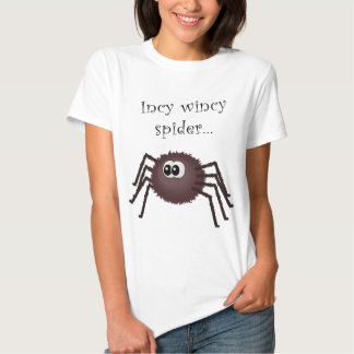 Incy wincy spider t shirts
