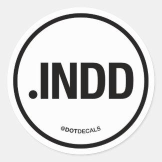 INDD Sticker