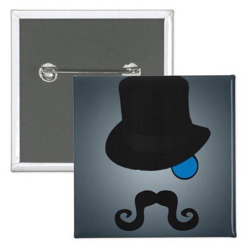 Indeed, Gentleman Pinback Buttons
