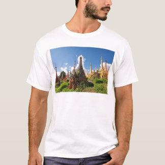 Indein Temple, Inle Lake, Myanmar T-Shirt