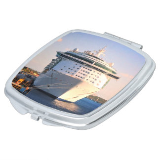 Independence at Cozumel Compact Mirror