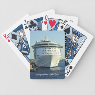 Independence at Cozumel Custom Bicycle Playing Cards