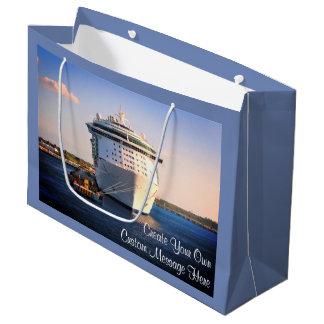 Independence at Cozumel Custom Large Gift Bag