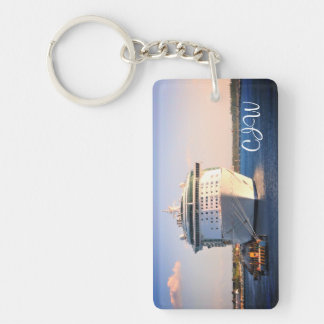 Independence at Cozumel Monogrammed Key Ring