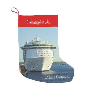 Independence at Cozumel Personalized Small Christmas Stocking