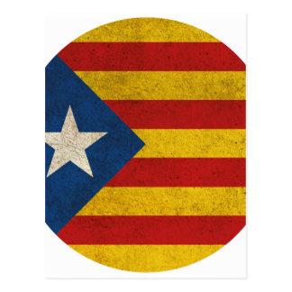 Independence Catalonia Lliure Estelada Postcard