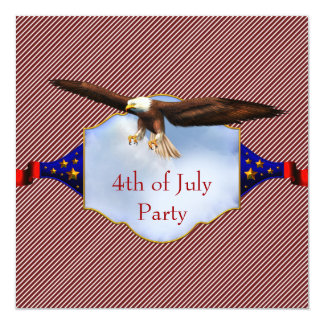 Independence Day 4th of July Party BBQ Card