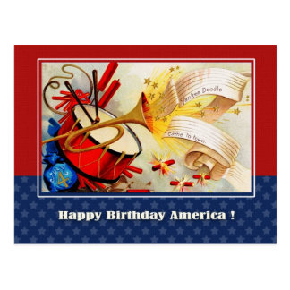 Independence Day, 4th of July Postcards