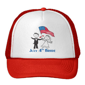 Independence Day Bride Hat